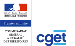 Logo du Commissariat Général à l'Égalité des Territoires (CGET)