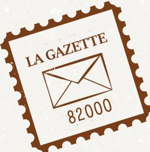 Image de timbre La Gazette 82000