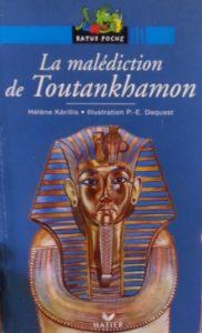 Photo du livre d'Hélène Kérillis, La malédiction de Toutankhamon