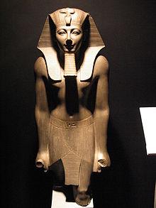 Statue de Thoutmosis III - Musée de Louxor