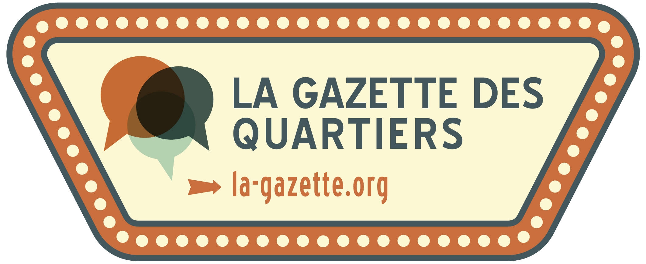 Logo de la Gazette des Quartiers