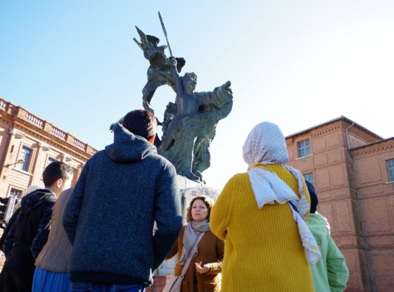 Première promenade culturelle avec Montauban Services et le Pont des Savoirs