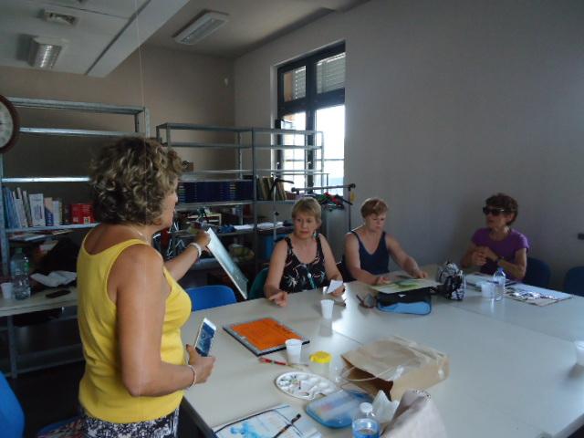 atelier découverte aquarelle